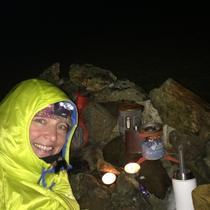 Candles if you can get sufficient shelter AND its safe! Summit of Moel Hebog.