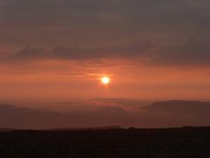 Sunrise from Ingleborough.