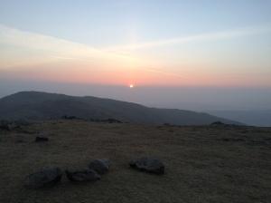 Milky Sunrise over Wetherlam.