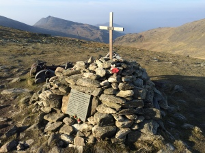 Great Carrs memorial.